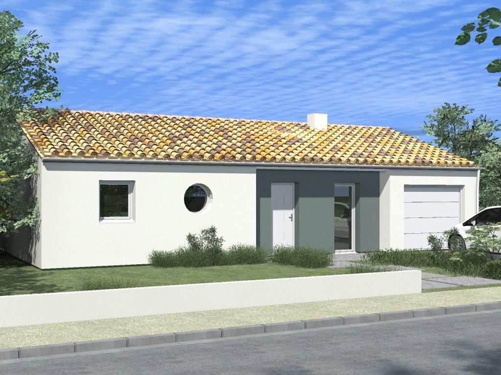 Ce mod le baptis arizona offre des lignes sobres et for Exemple de facade de maison