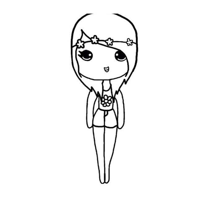Chibi Template Chibi Girl Drawings Cute Kawaii Drawings Kawaii