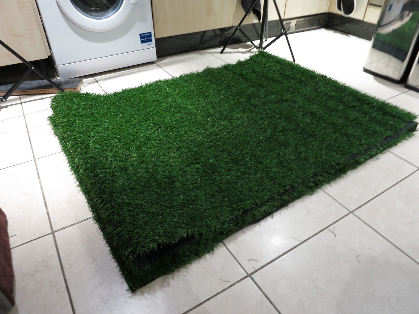utubemakeup HOWTO How I made my artificial grass