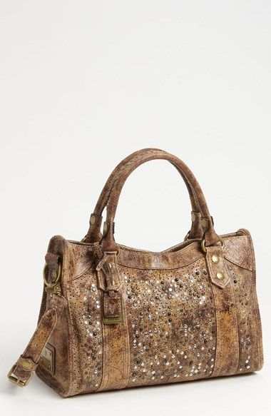 Frye Deborah Studded Satchel Available At Nordstrom