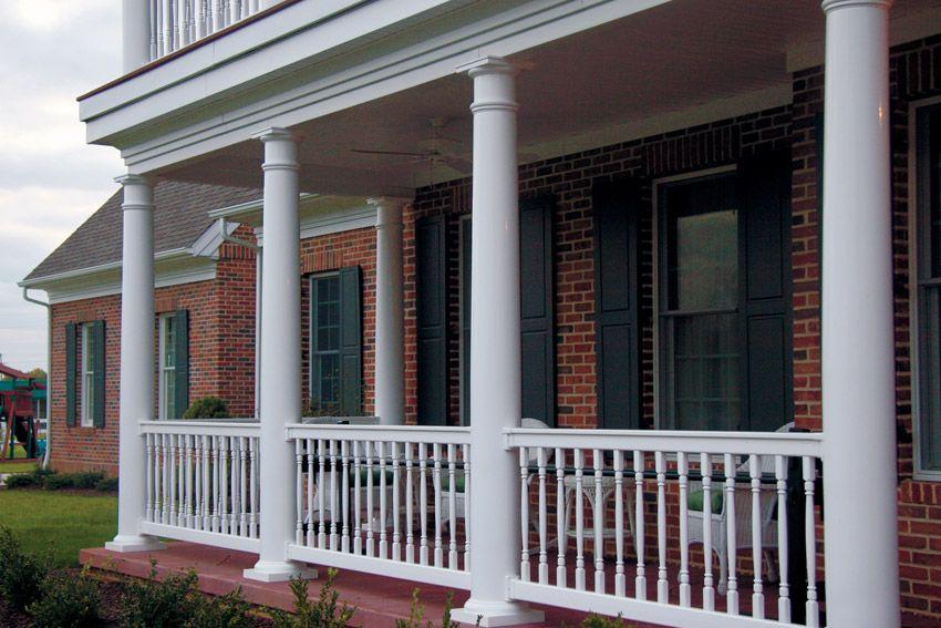 Best Superior Tapered Round Structural Column Post Porch 400 x 300