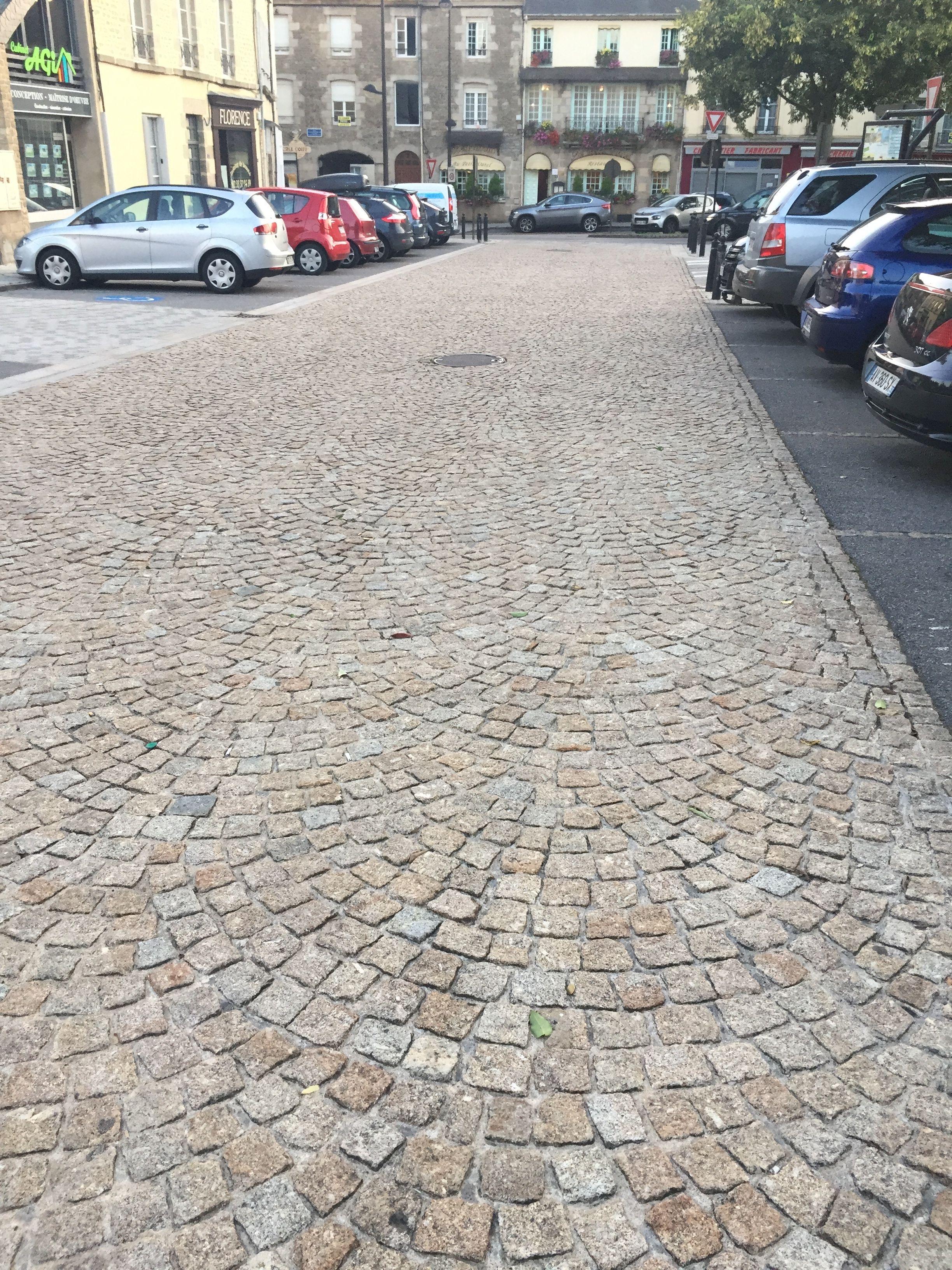Connu Pavés pour le sol en granit gris jaune beige Origine Portugal Pose  PX65