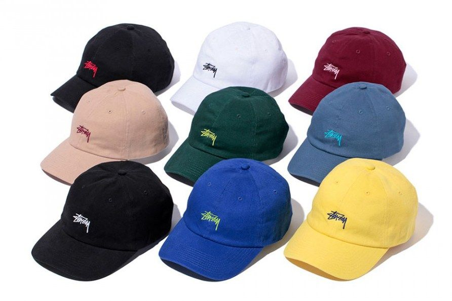 53c0d24a9aaef Stussy 2016 Spring Stock Logo Chapter Lo Pro Strapback Collection ...