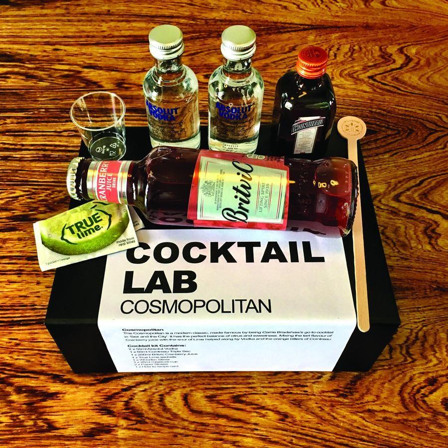 Cosmopolitan cocktail kit gift box in 2020 cocktail kit