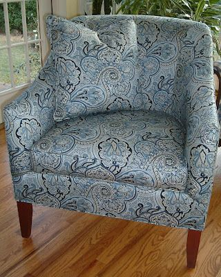Best Blue Paisley Chair 2008 Blues Shades In A A Paisley 400 x 300