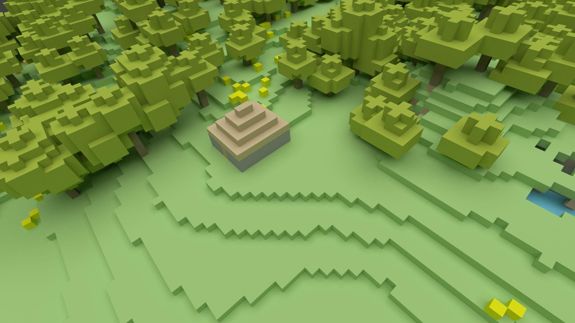 Steam ワークショップ Sandbox/Minecraft like/Building/Voxel