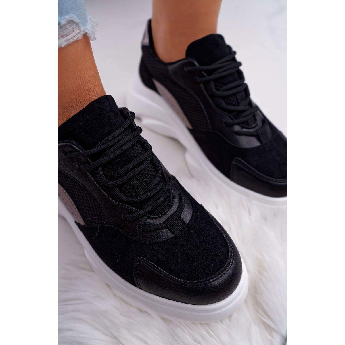 Sea Sportowe Damskie Buty Gruba Podeszwa Czarne Cardamon Air Max Sneakers Sneakers Nike Nike Air
