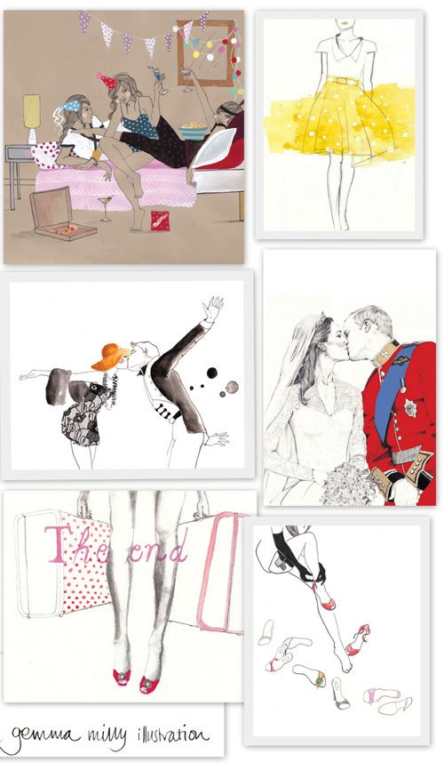 Gemma Milly illustrations