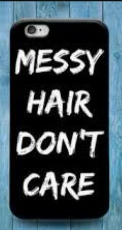 huge discount fb7a5 4749a Messy hair dont care phone case | 1 | Ipod touch cases, Ipod 5 cases ...
