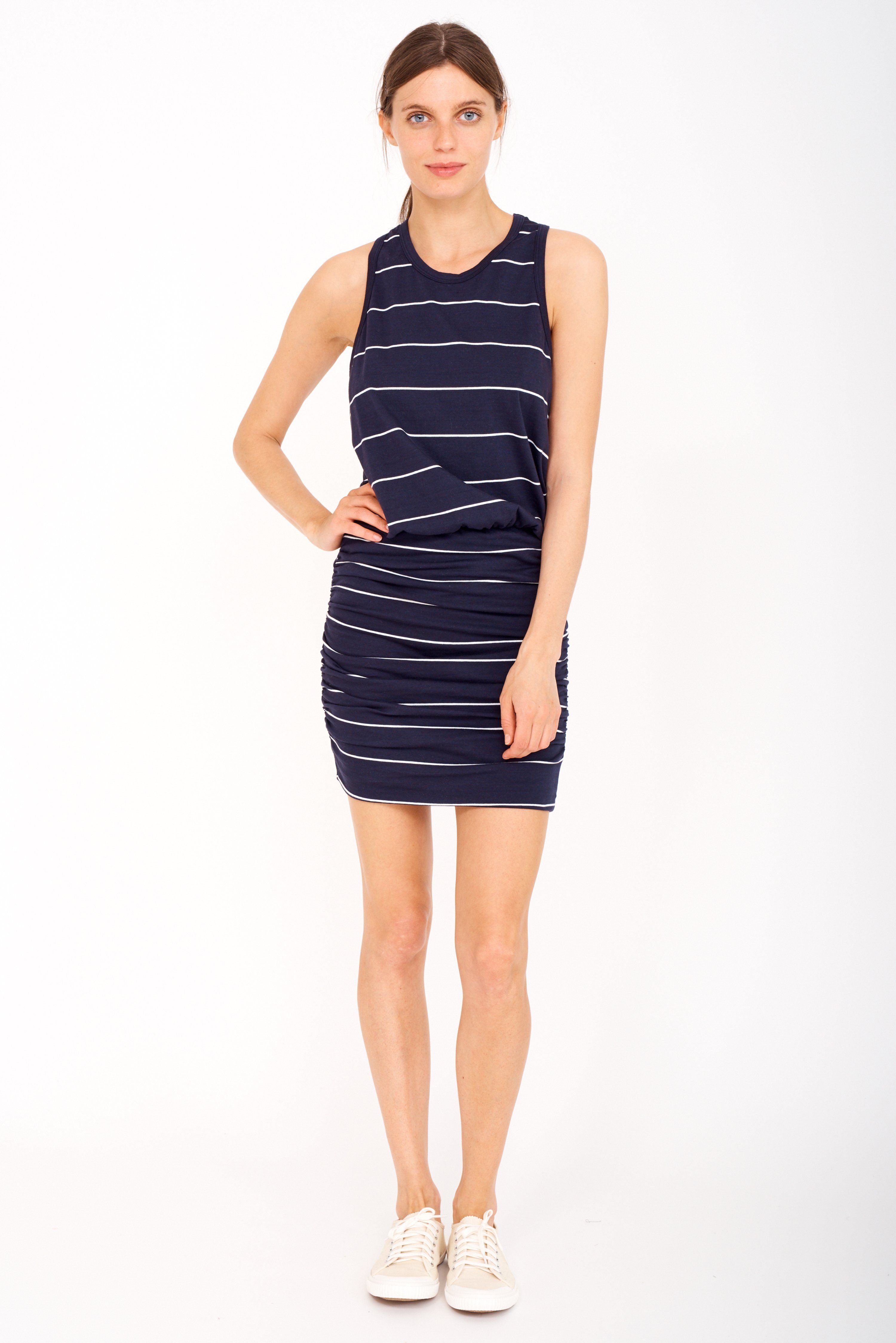 068b0dd1fcd2e Sundry Striped Sleeveless Dress from Sundry