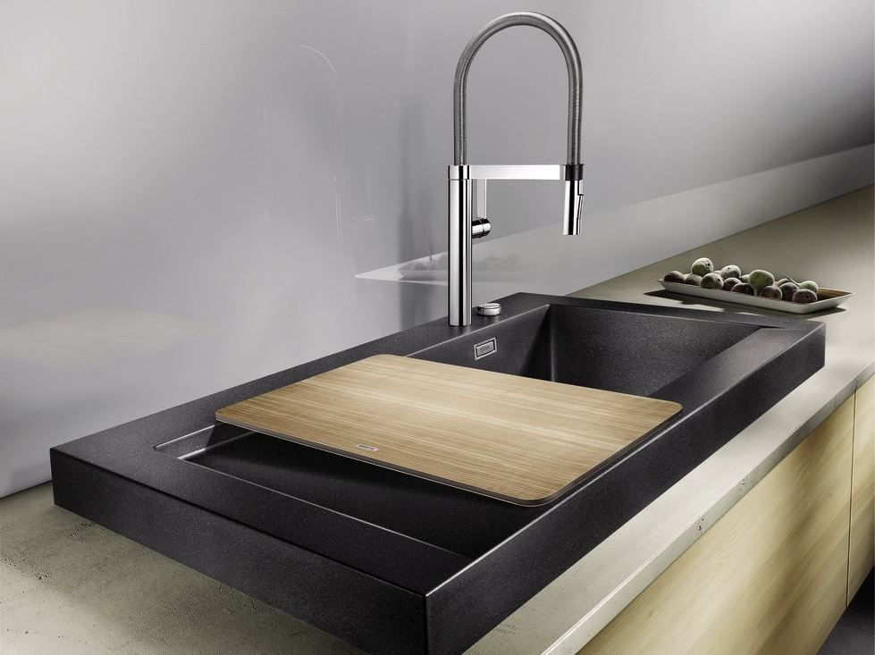 Countertop Silgranit® Sink With Drainer BLANCO MODEX M 60 By Blanco