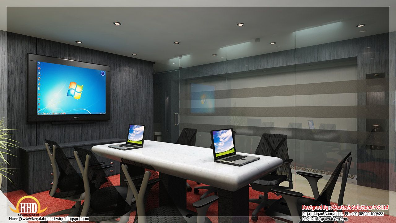 Black White Orange Wall Color For Modern Office Meeting Interior What Are The Best Colors Offices Seekayem