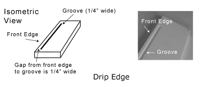 Drip Edge Png 400 173 Pixels With Images Drip Edge Groove Window Sill