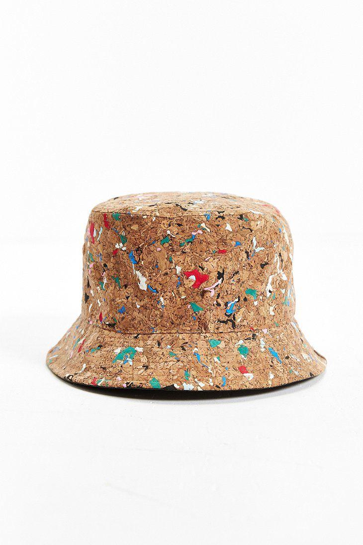 8218c5f6 Men's Brown Cork Bucket Hat | cute | Hats, Mens bucket hats, Bucket hat