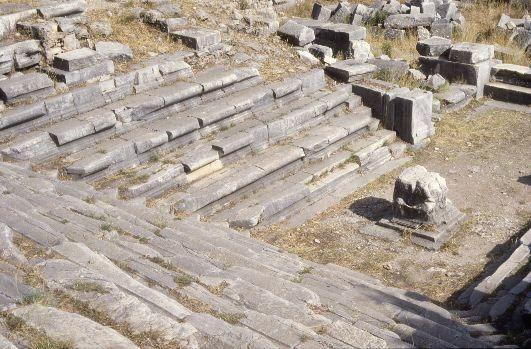 Bouleuterion de Priene (c. 200 a. C.)