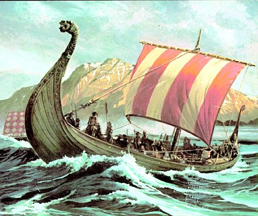 Inspiration for 3d longship painting wet on wet background inspiration for 3d longship painting wet on wet background sea in foreground voltagebd Images