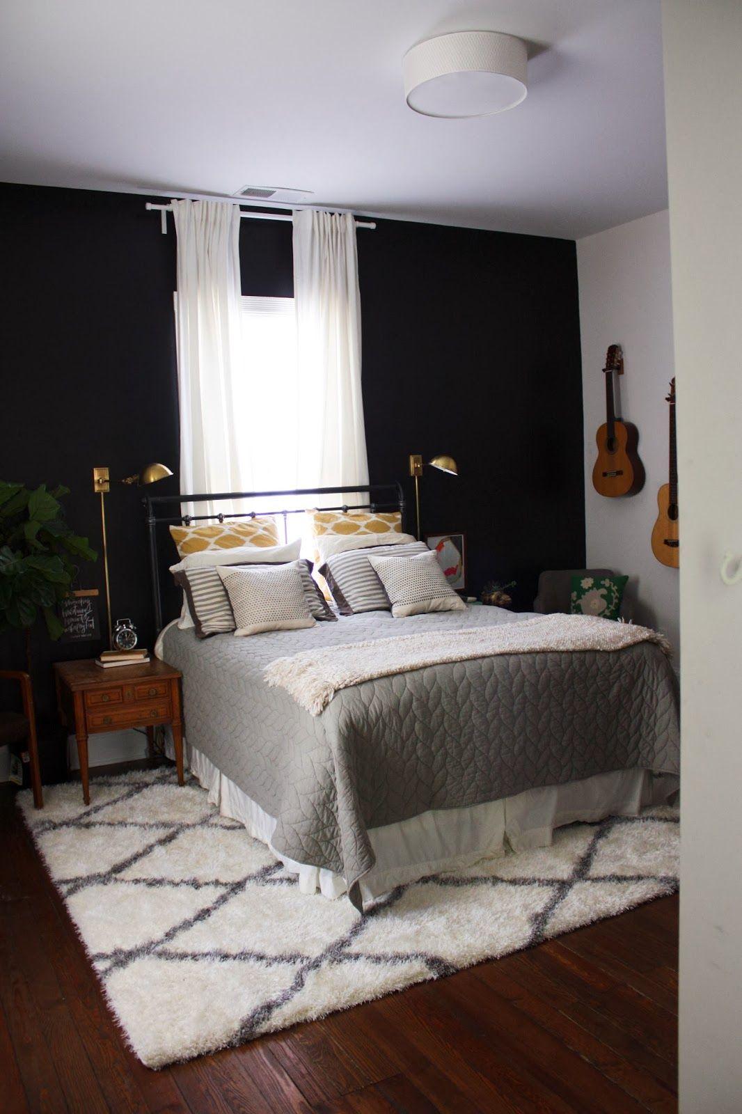 Consider Floor Length Curtains Behind Headboard In Master