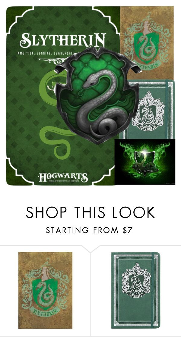 """Slytherin"" by marvaiman ❤ liked on Polyvore"
