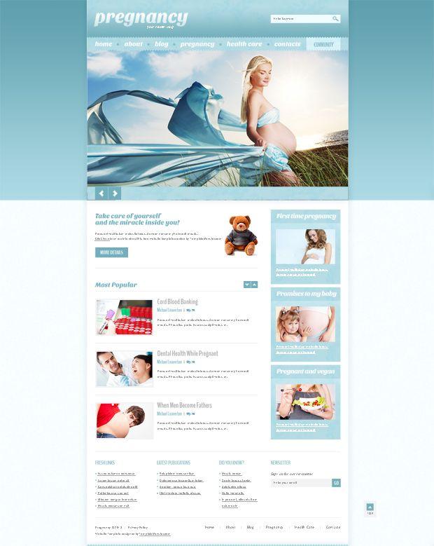 Free WordPress Health Theme. Make Health an Online Trend | Psd ...