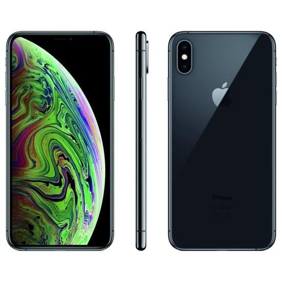 apple iphone xs max 64 go 6 5 gris sid ral in 2019 apple iphone iphone phone apple iphone