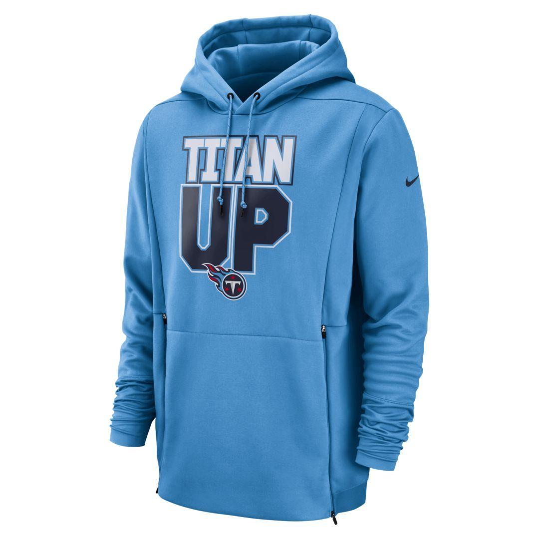 a0b16fa9dc5 Nike Therma (NFL Titans) Men s Hoodie Size XL (Coast)