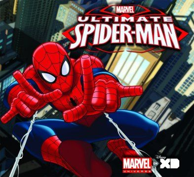 An Ultimate Spider-Man poster.