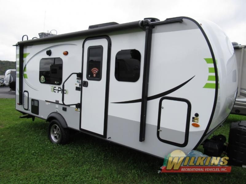 New 2019 Forest River Rv Flagstaff E Pro 19fd Travel Trailer At