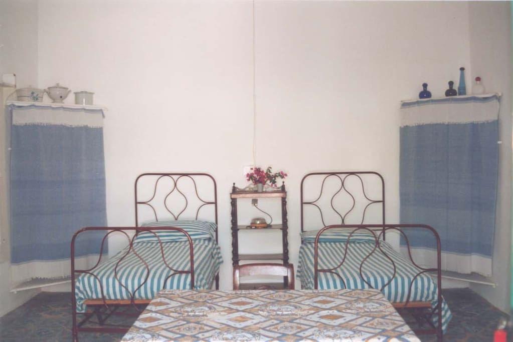 Bedroom, Panarea.