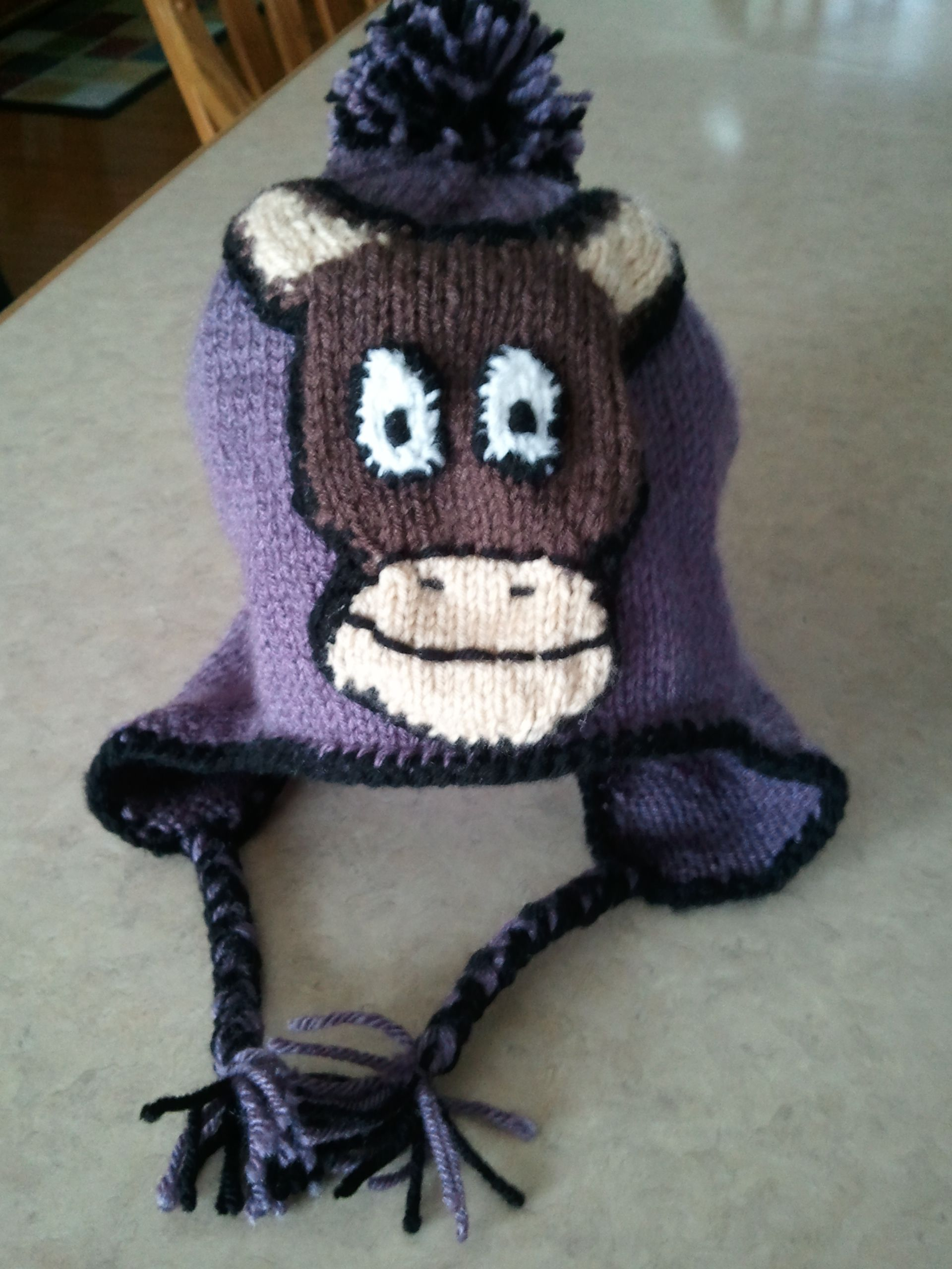 db21ffeaab6 Sock Monkey Hats for the Whole Family (pdf knitting pattern ...