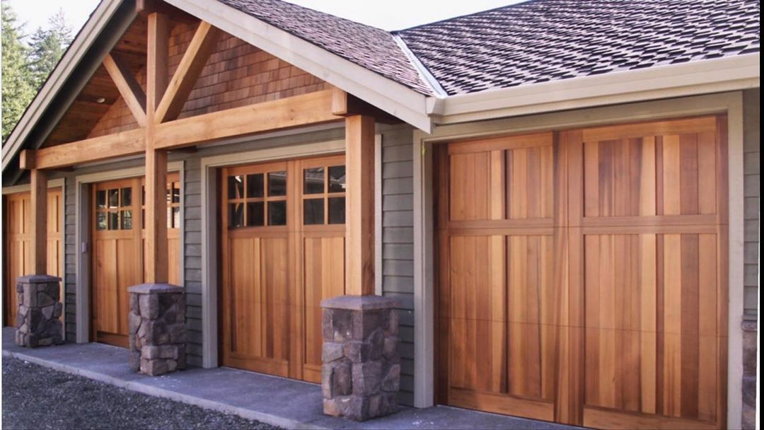 Another beautiful customer wood garage door we built about ten years ago. .  #tfdrapercompany #shoplocal #localbussiness  #garagedoor #garagedreams #garagedesign #doors #customwood #streetappeal #homeimprovement #garagedoors #customwoodgaragedoors #wood #homegoals #overheaddoors #cedar #overheaddoors #farmhouse #portland  #woodworking #renovation #homeimprovements #home #garage #smallbusiness #pdx #pdxhomes #portlandhomes #modernhome #customhomes #luxuryhomes  #Regram via @tf_draper_company