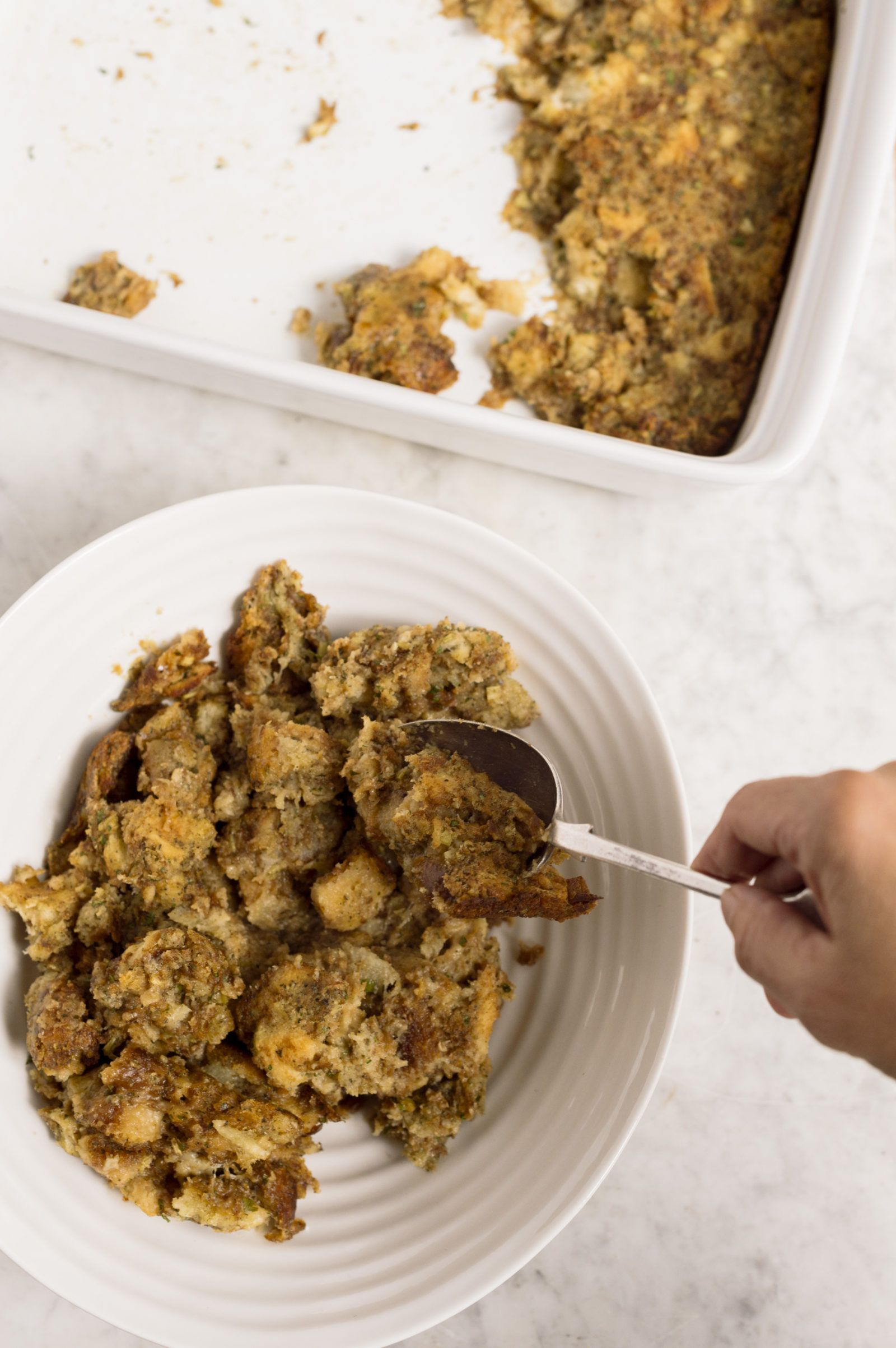 Easy Bake Herbed Stuffing