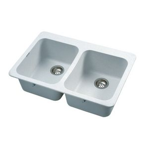 20 X 31 X Double Granitek White Kitchen Sink   Home Hardware   Home Hardware  Also Has A Lot Of Options For Large Single Bowel Sinks (not White).