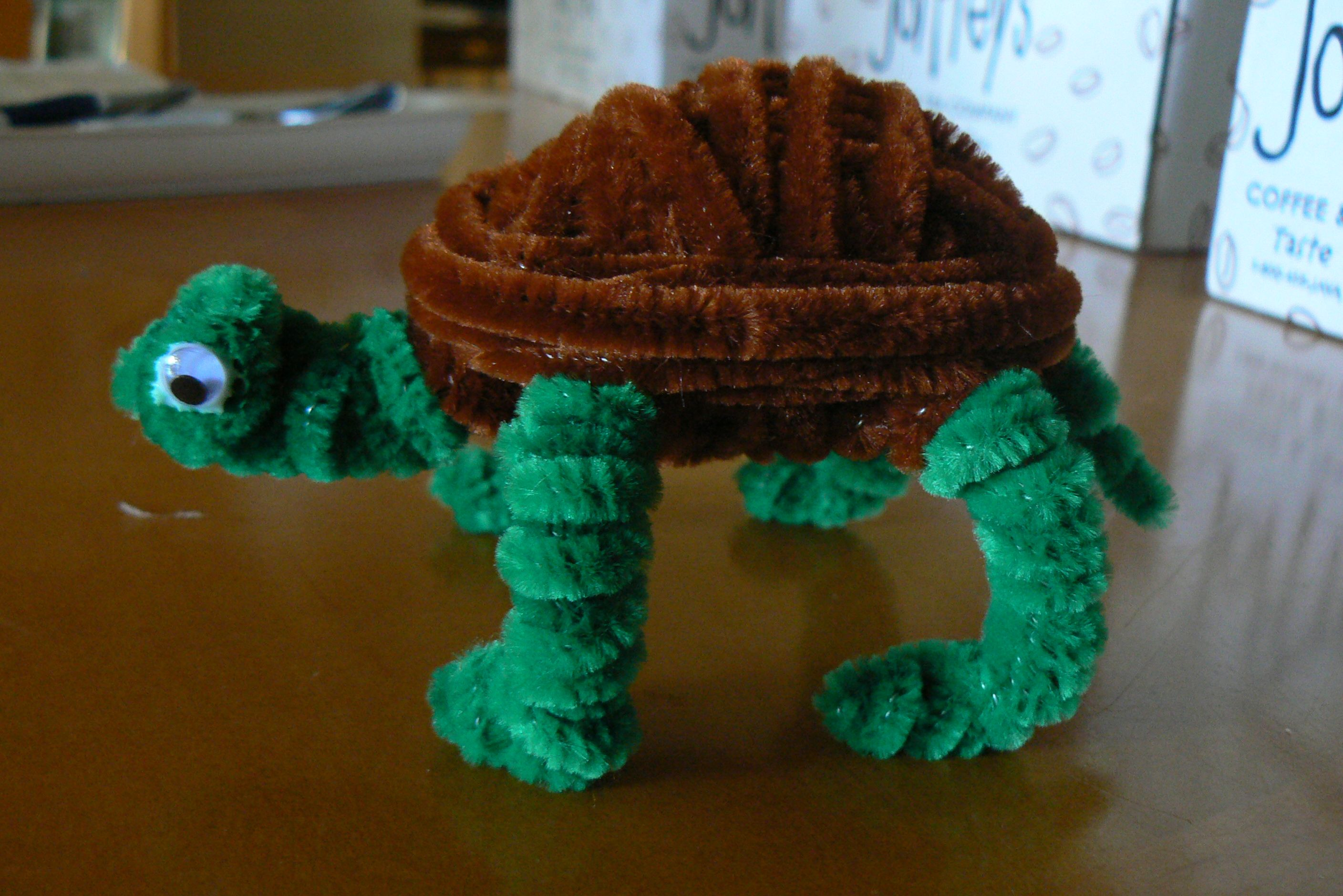 Turtle | pipe cleaner animals | Pinterest | Turtle, Pipes ... - photo#10