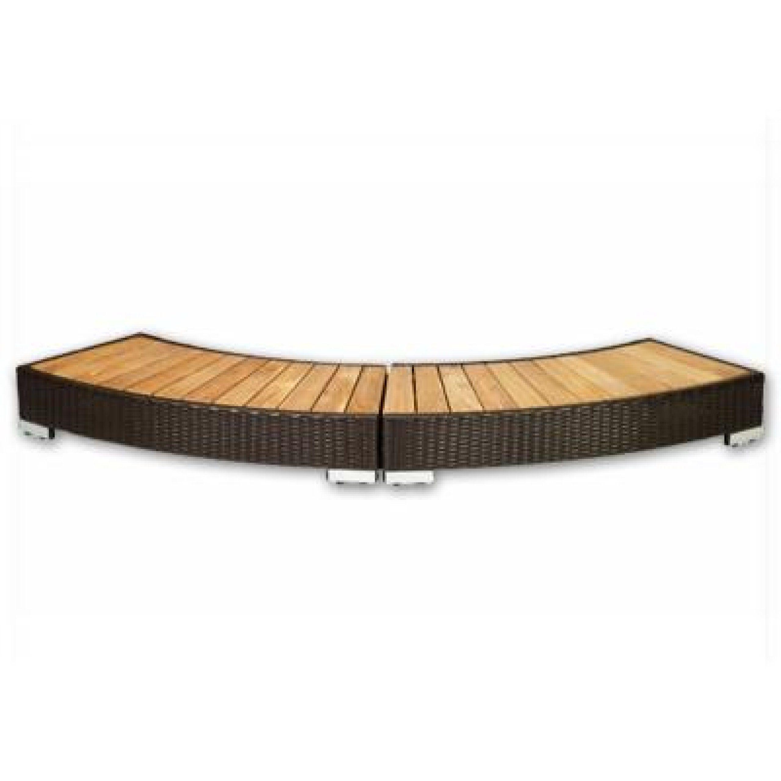 Adorable Whirlpool Für Garten Decoration Of Softub Poly-rattan-einstieg Mocca Für Resort 300: Concept.de: