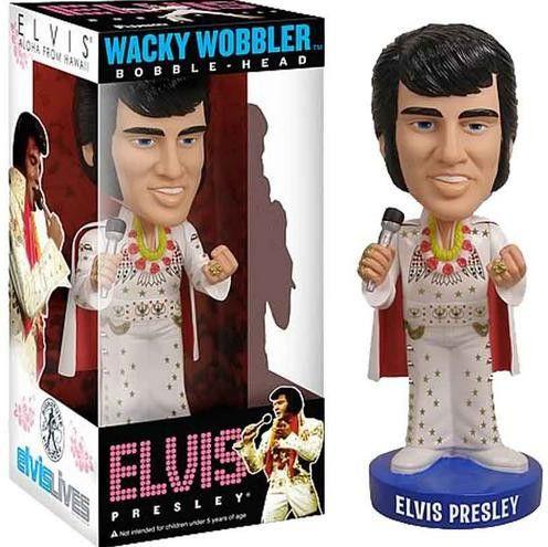 Elvis PRESLEY Wacky Wobbler Figura da Collezione Nuovo