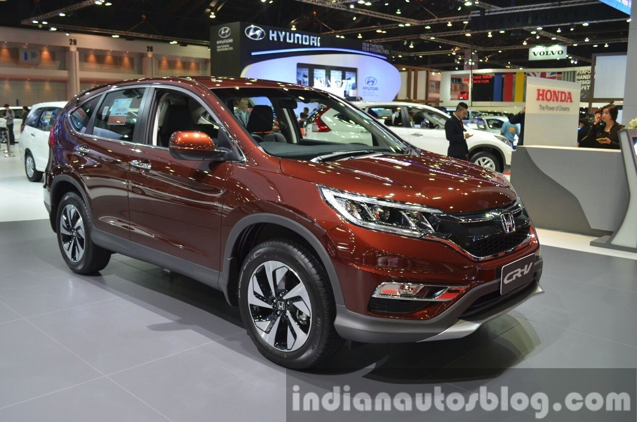 Honda what is the length of a honda crv : Next-gen 2017 Honda CR-V spied testing in USA   Cars Daily updated ...