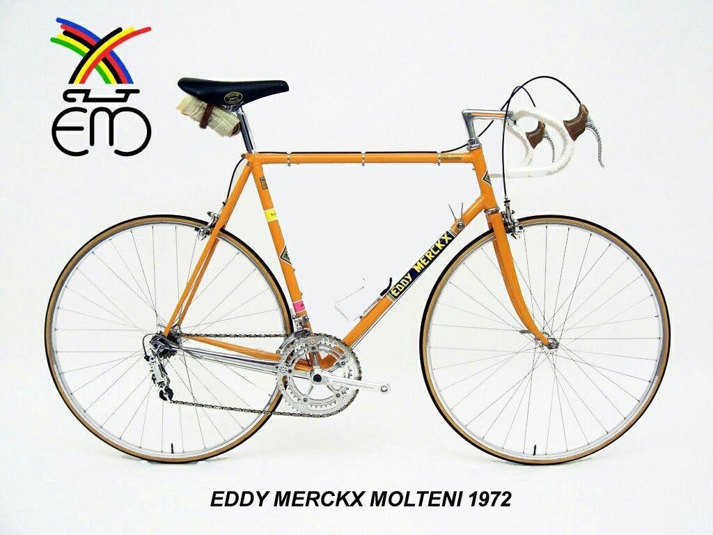 Eddy Merckx Molteni 1972 Campagnolo Simplex Record C Bianchi Colnago