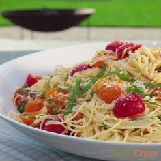ina gartens summer garden pasta thechew - Ina Garten Pinterest