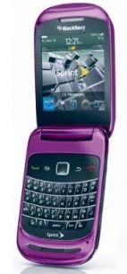 Purple Blackberry cell phone? Yes indeedy! $104.85