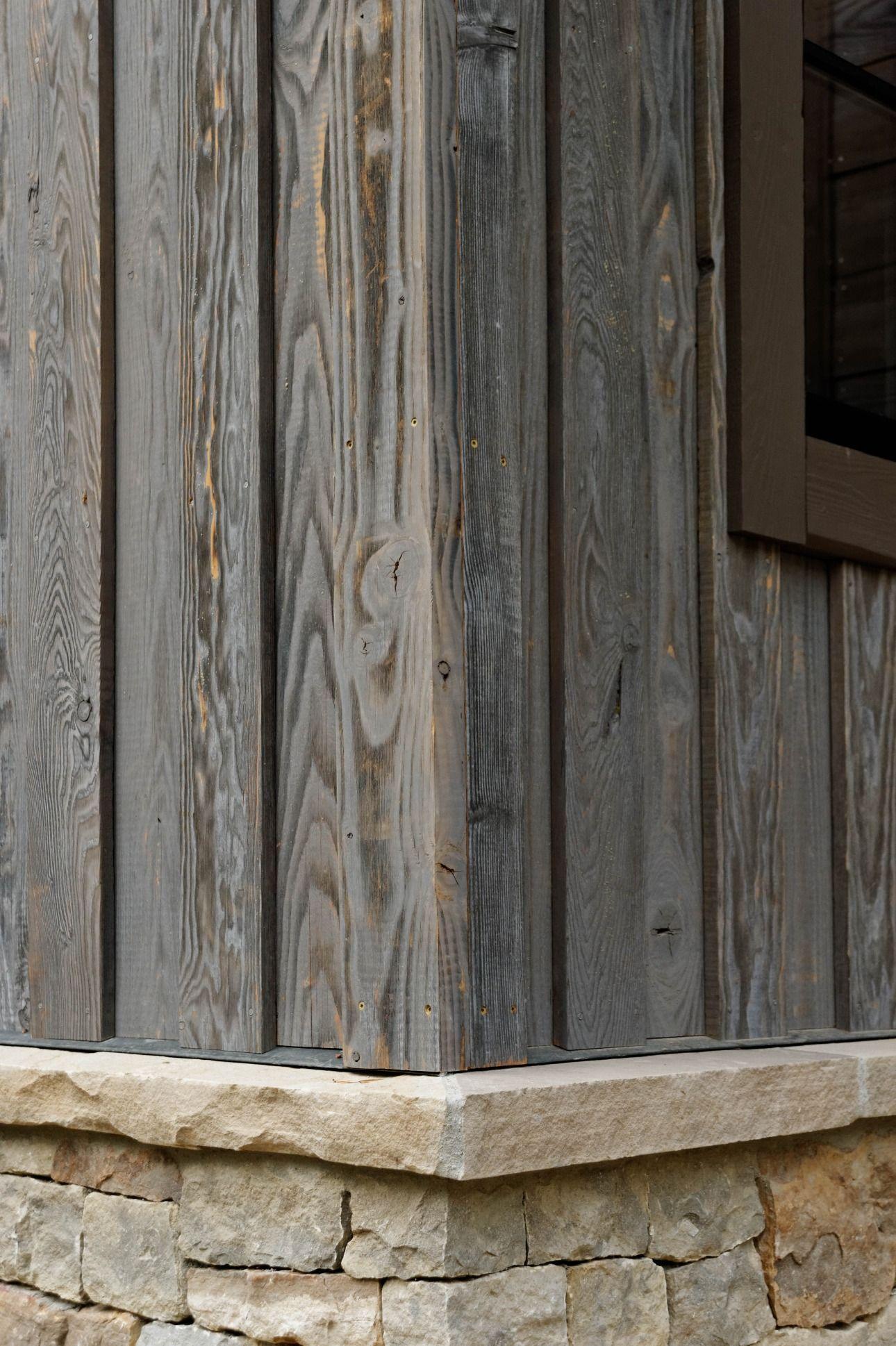 Beautiful Shou Sugi Ban Charwood Home Rustic