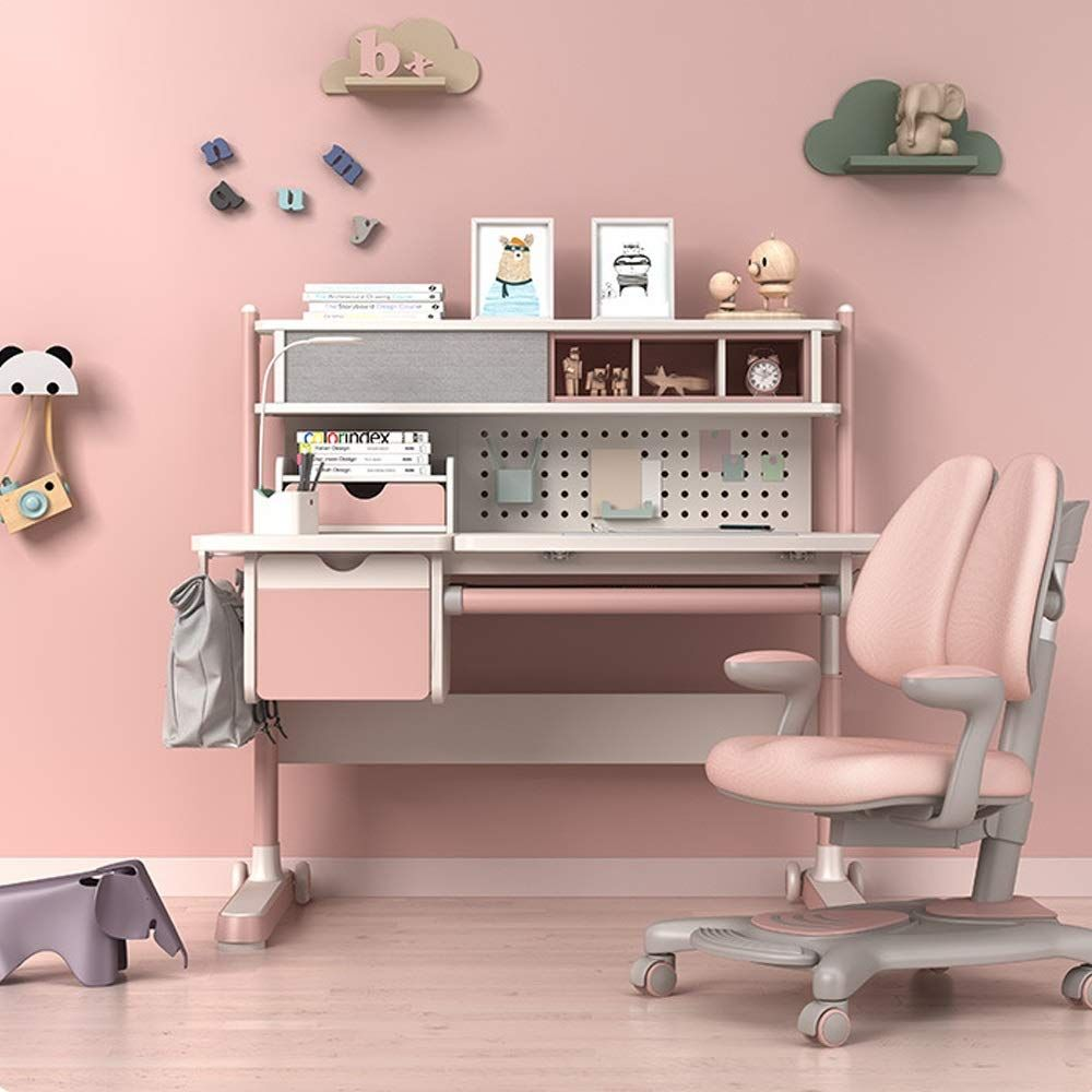 Qiupei Childrens Homework Children Workstation In 2020 Kids Study Table Childrens Desk And Chair Study Table
