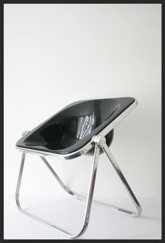 Original Lounge PLONA Stuhl Von Piretti Castelli   Eames Bertoia Jacobsen  Sottsass Ära,