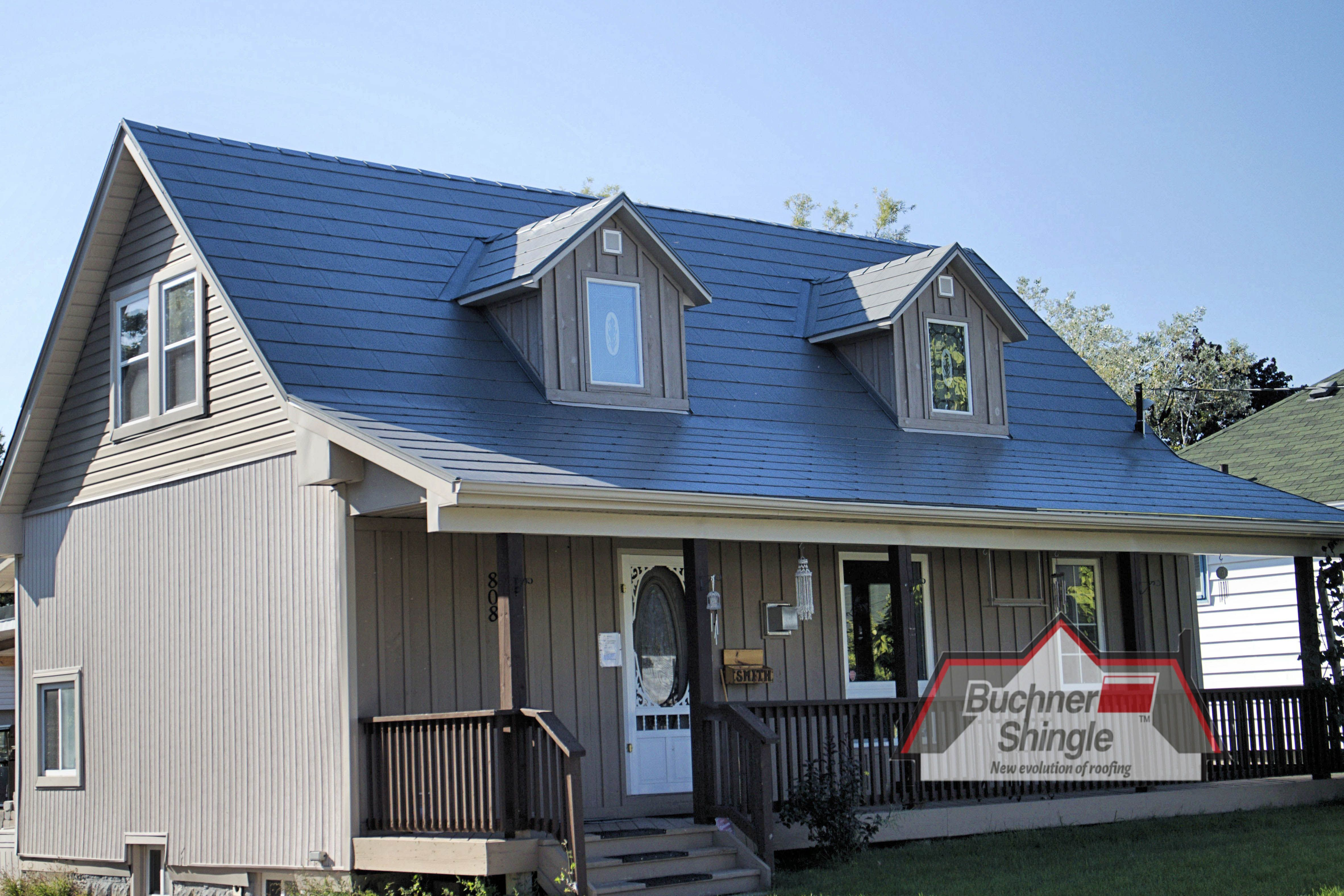 The Aluminum Shingles From Bmi Are More Durable Than Steel Yet