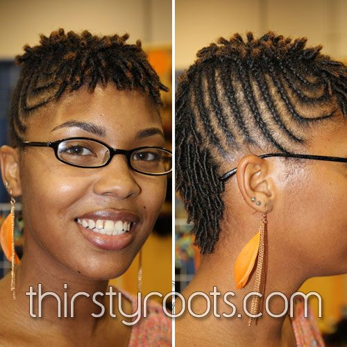 Braid Hairstyles For Short Hair With Images Natural Hair
