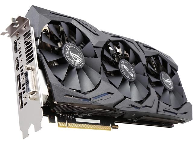 Buy Asus Rog Geforce Gtx 1080 Strix Gtx1080 A8g Gaming 8gb 256 Bit Gddr5x Pci Express 3 0 Hdcp Ready Video Card With Fast Shipping A Graphic Card Asus Asus Rog
