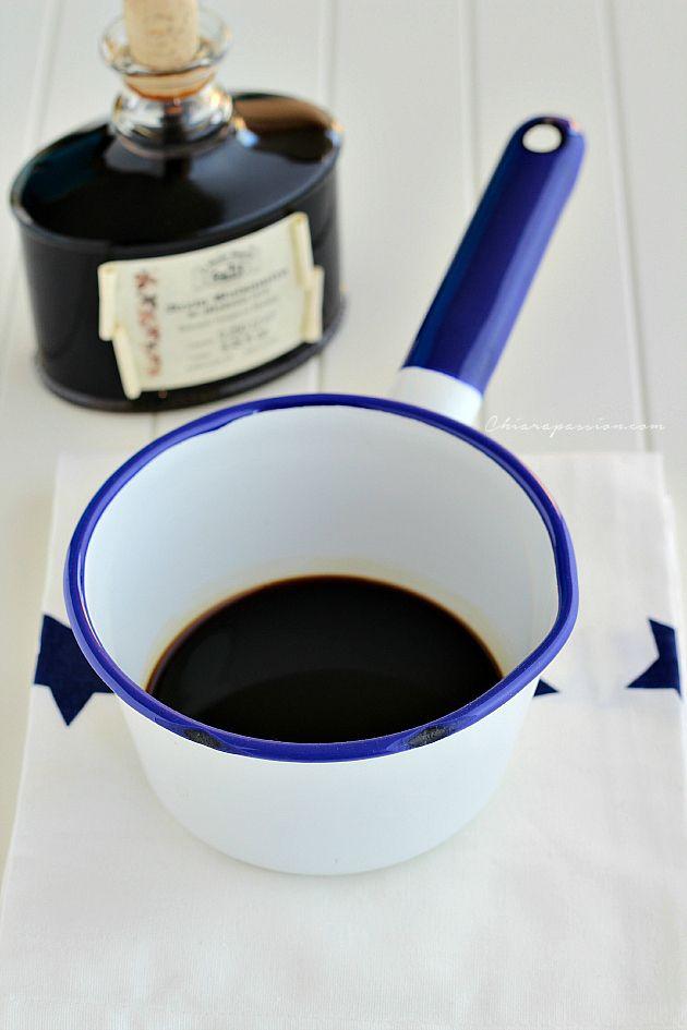 Chiarapassion: riduzione all'aceto balsamico