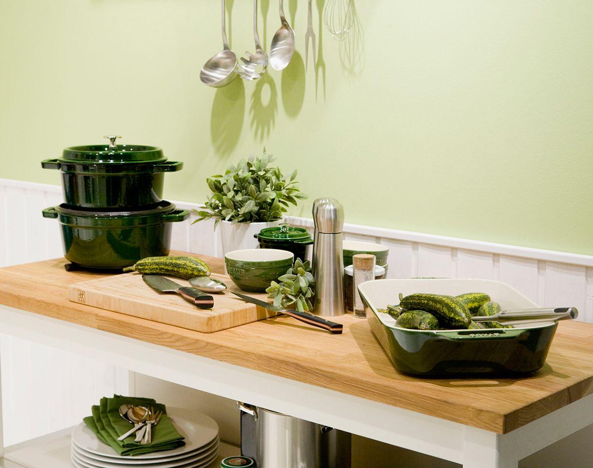 Zwilling Küchenhelfer ~ Es grünt so grün küchenutensilien in der sommer farbe grün von