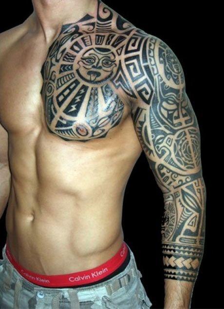 First Tattoo Ideas For Men Best 3d Tattoo Ideas Aztec Tribal Tattoos Polynesian Tattoo Tribal Tattoos