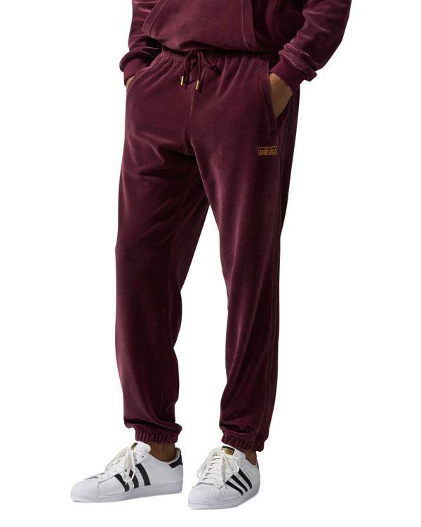 e10af3507c7 adidas Originals Velour Jogger Track Pants | Outfits | Adidas ...