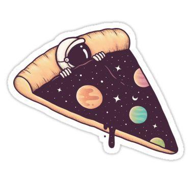 Galactic Deliciousness Sticker